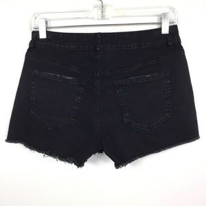 Vanilla Star Shorts - VANILLA STAR HIGH LOW SHORTIE DISTRESSED SHORTS